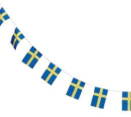 Girlang - Sverigeflagga