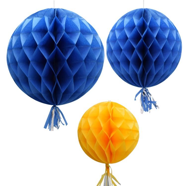 Honeycombs - Blå/gul