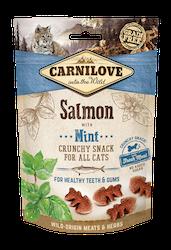 Carnilove CAT Crunchy Snack Salmon & Mint, 50g