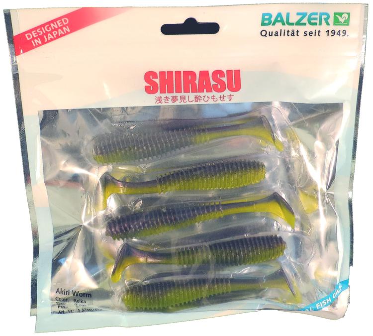 Akiri Worm 7cm / 4gr  5-Pack