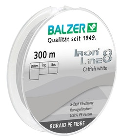 Iron Line 8 Catfish White 300M