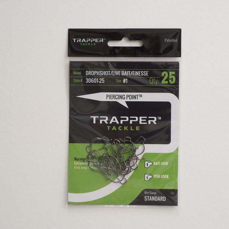 Trapper Hooks Dropshot-Live Bait-Finesse Hook