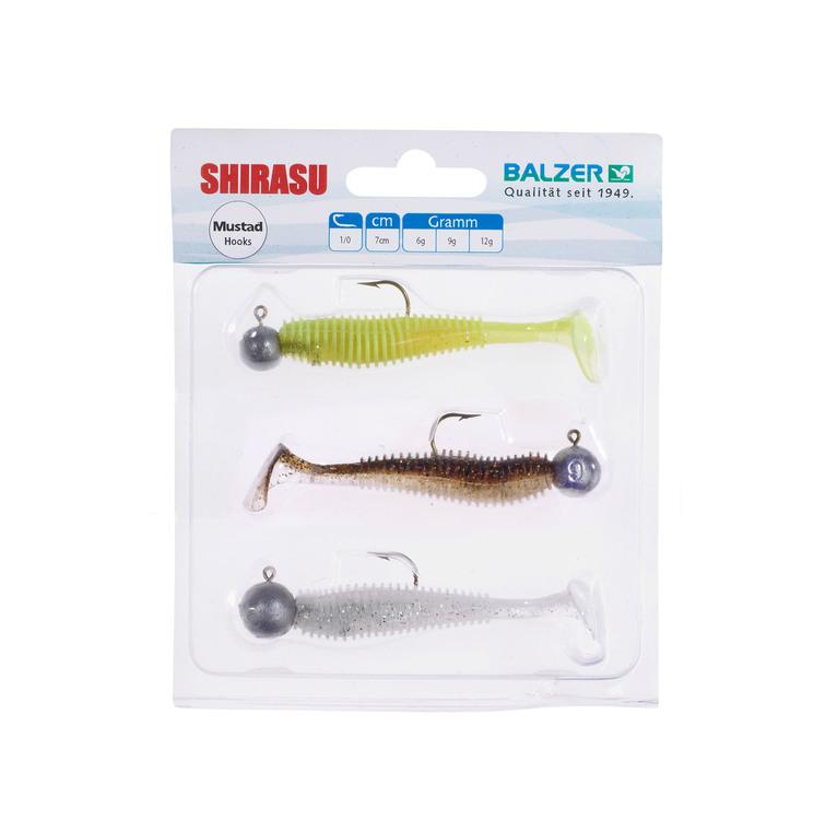Shirasu Akiri Worm Set, 7cm