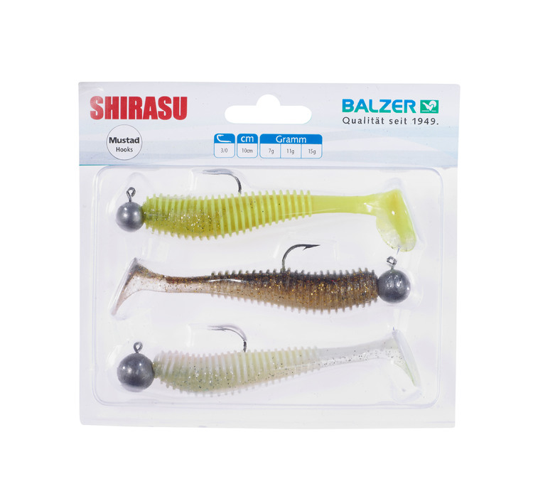 Shirasu Akiri Worm Set, 9cm