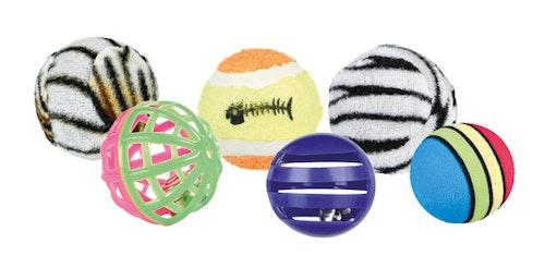 Trixie Leksaksbollar, 6-pack