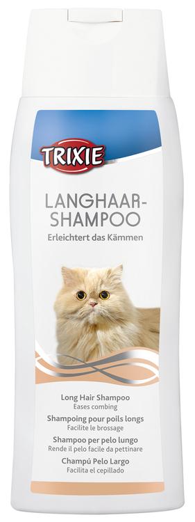 Trixie Långhårs-Schampoo till katt, 250ml