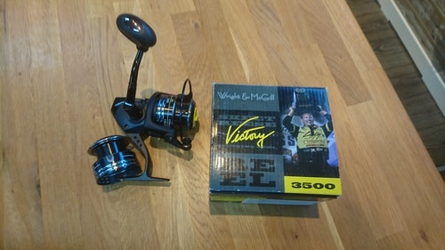 EAGLE CLAW WMESRV3500S 3500 WRIGHT AND MCGILL SKEET REESE VICTORY SPINNING REEL