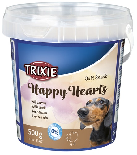 Soft Snack Happy Hearts 500g plasthink