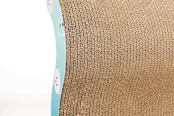 Klösbräda Mimi papp, 50 × 9 × 23 cm, turkos
