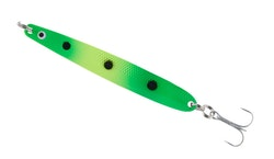 Colonel Z Seatrout II Green-Yellow With Spots med Mustad krok UV-Active