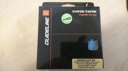 Fluglina Guideline Power Taper 8/9-HI  DC (blå)