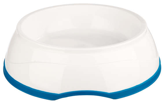 Kylskål CoolFresh, hund, 1L 20 cm, vit/blå