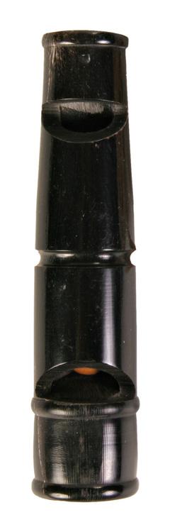 Visselpipa i horn 2-tons 9 cm