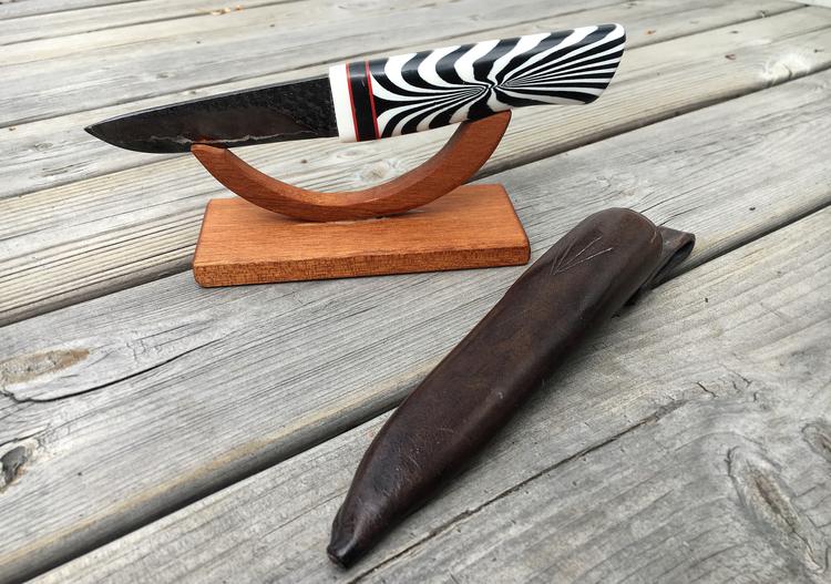 Handgjord vildmarkskniv #1