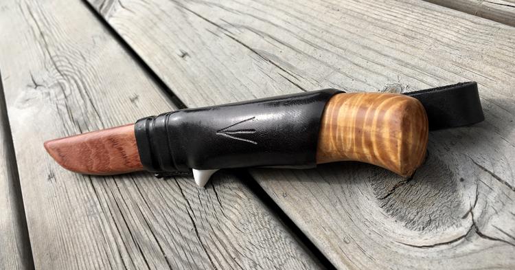 Handgjord vildmarkskniv #4