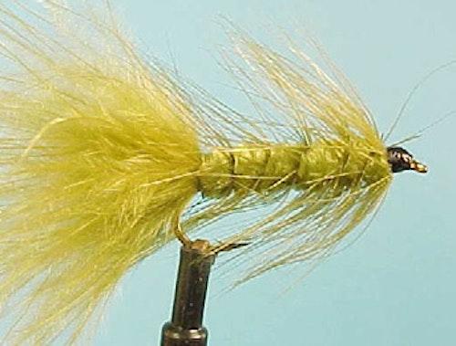 Olive Wooley Bugger #8