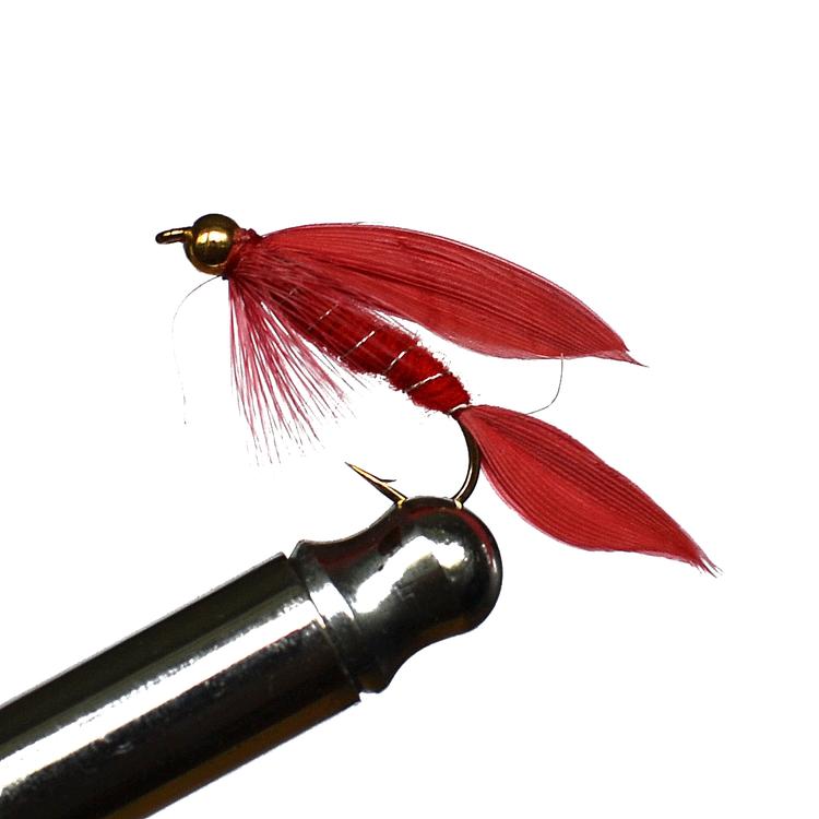 Goldhead Streamers Cardinal #8