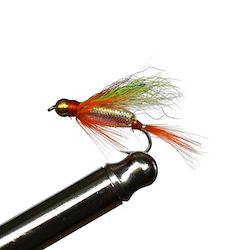 Goldhead Streamers Pearl Fry #8