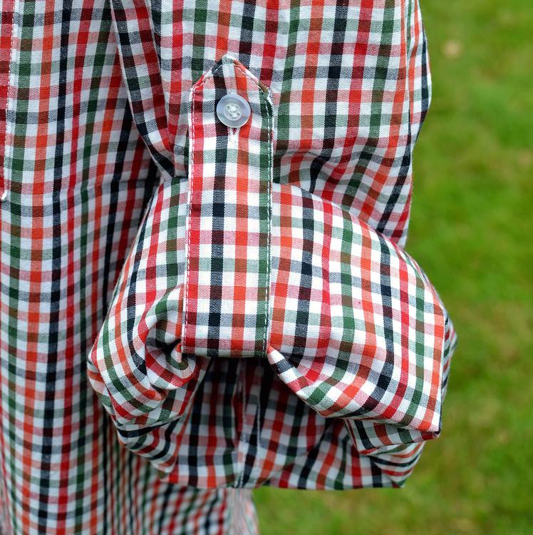 Insect Shield® Rödrutig skjorta
