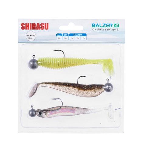Shirasu HoloYoko/AkiriWorm/Waggle Shad 11cm