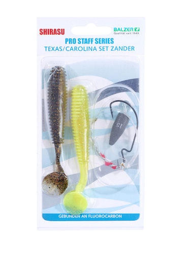 Carolina-/Texas/Jig ( 3 in 1 Rig ) Zander