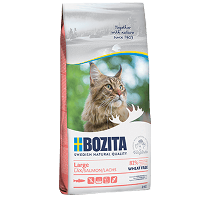 Bozita Feline Large Wheat free