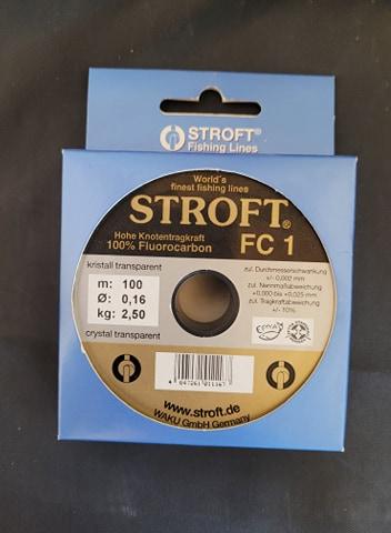 Stroft fiskelina FC1 tafsmaterial 100 meter