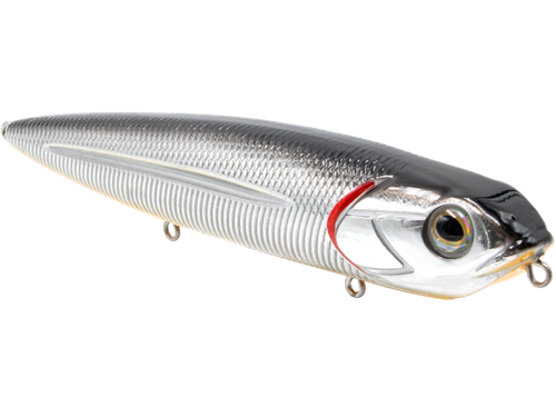 Livingston Walking Boss Black back chrome shad