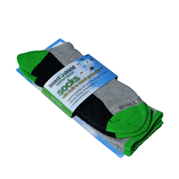 Insect Shield® sockor Grön