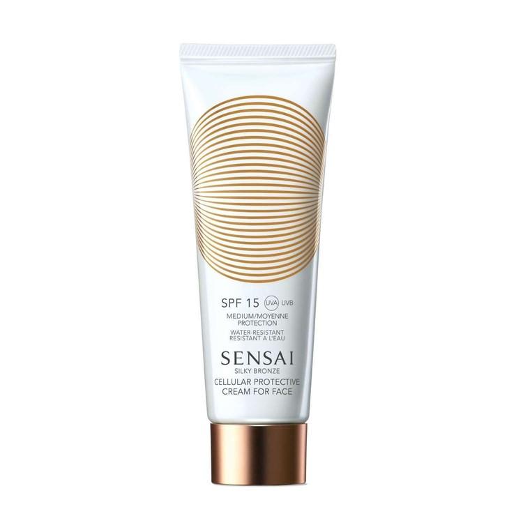 Sensai Silky Bronze Protective Cream for Face (SPF 15)