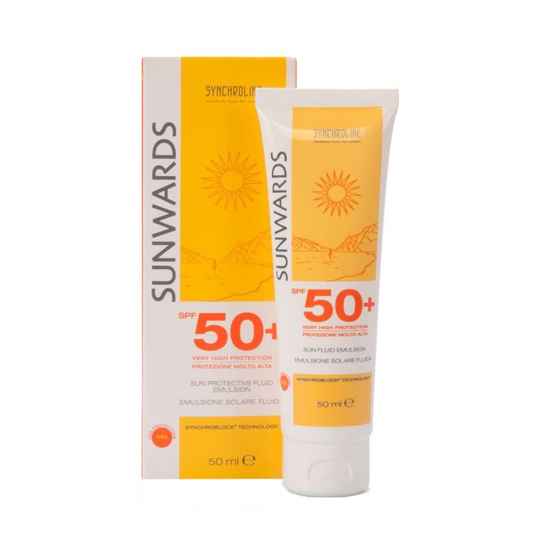 Synchroline SUNWARDS  Fluid Emulsion Face Cream SPF 50 50ml