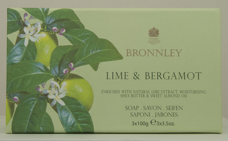 Bronnley - Lime & Bergamott  3x100g