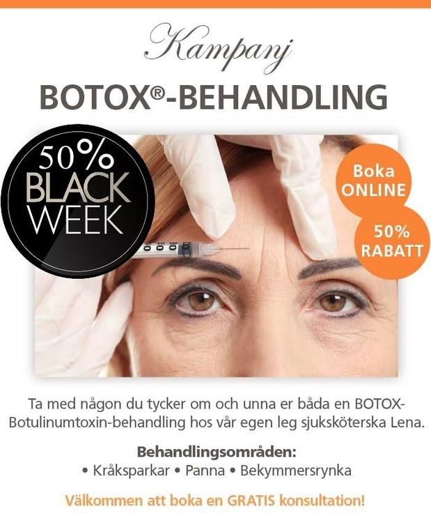Botox Köp 1 få 2 områden50%