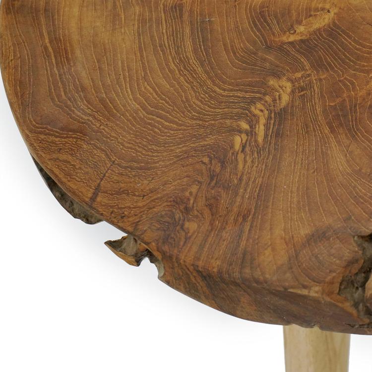 WOOD Sidobord i trä
