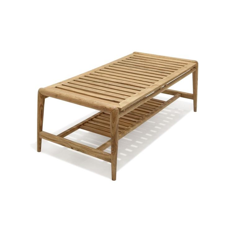 EKSJÖ Loungebord Cederträ