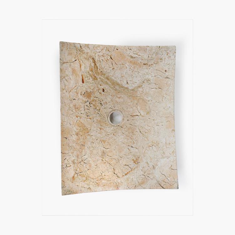 Handfat av marmor