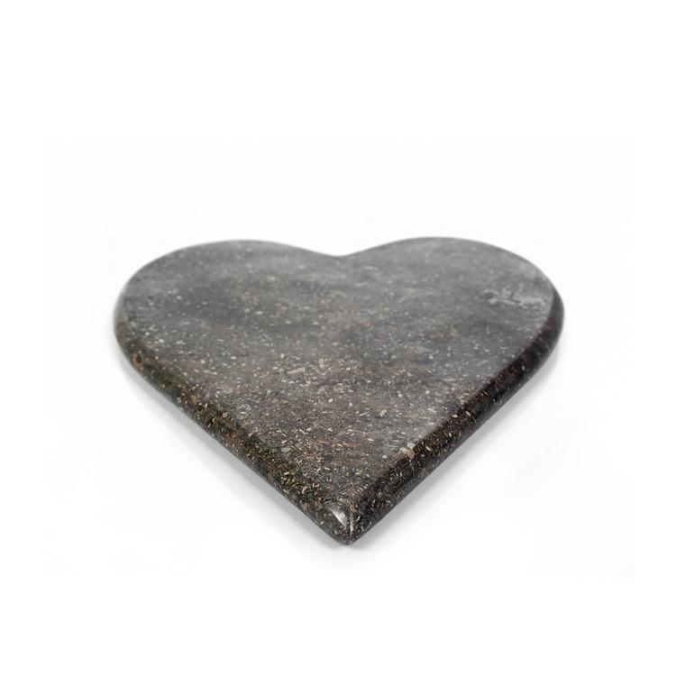 Skärbräda Marmor Hjärta 2 delar