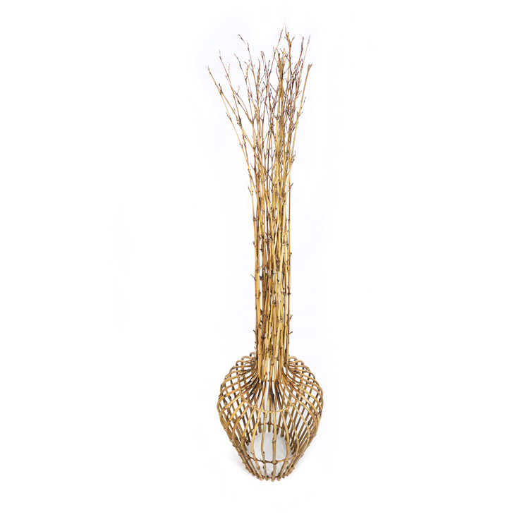Dekorationsvass av bambu