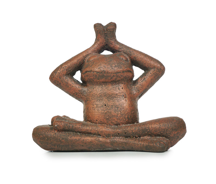 ZEN Meditation Frog Small