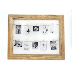 Tavelram med snöre för fotografier