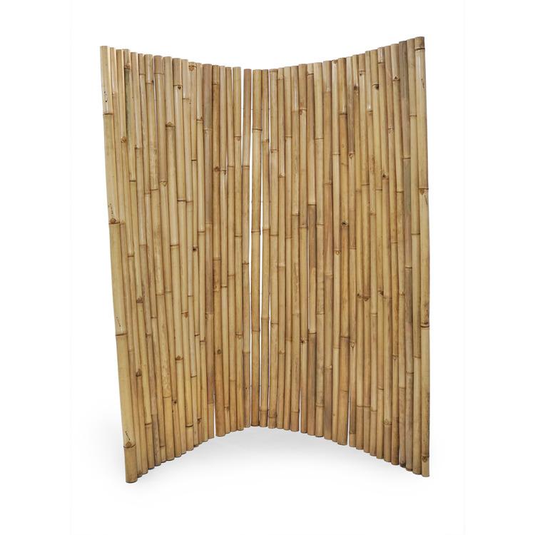 Bambuskärm av bambupinnar