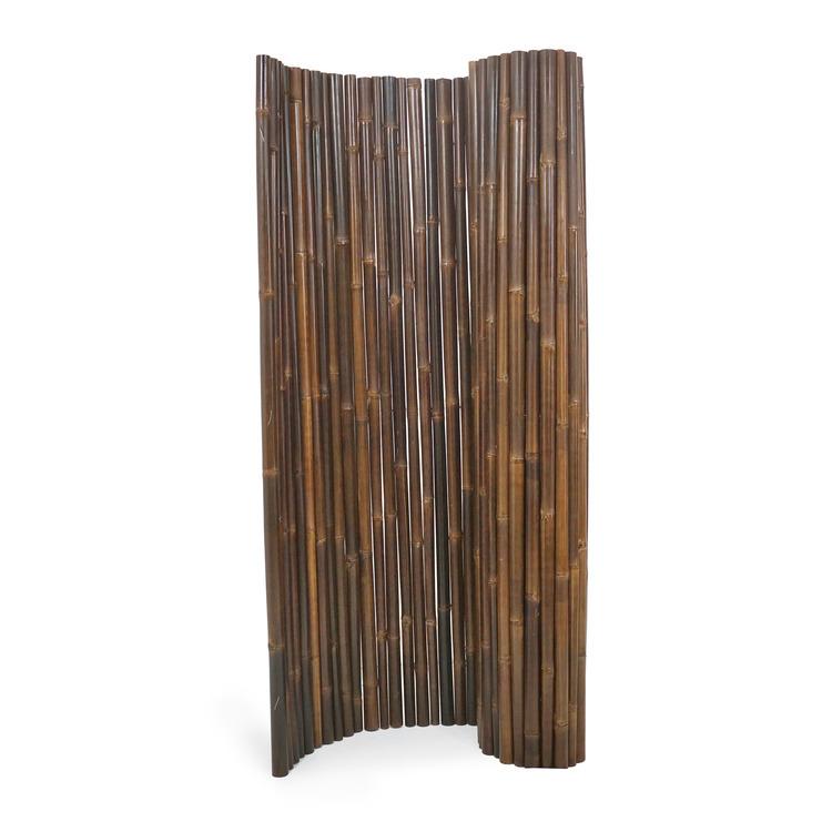 Rumsavdelare av mörk bambu