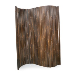 JAVA Bambuvägg Avskiljare Svartbrun