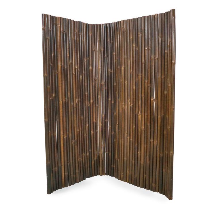 Bambupanel av mörk bambu