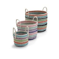 Mauritius Förvaringskorgar Textil