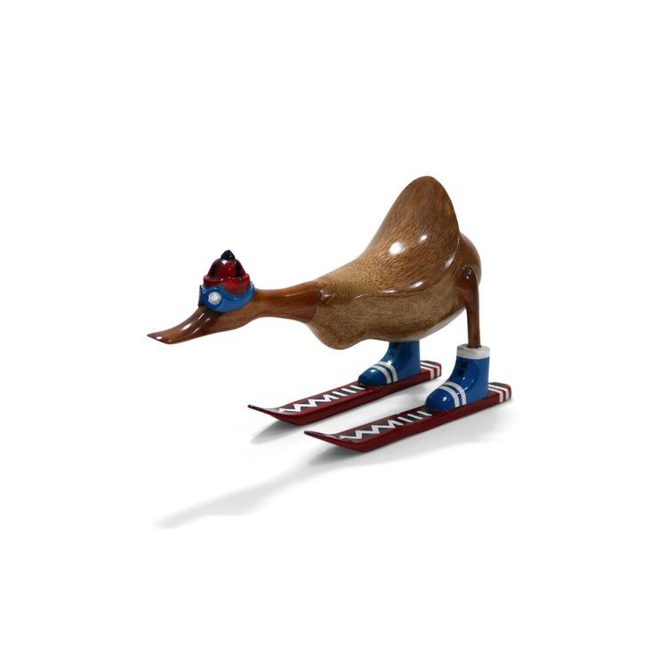 DUCK Anka på Skidor