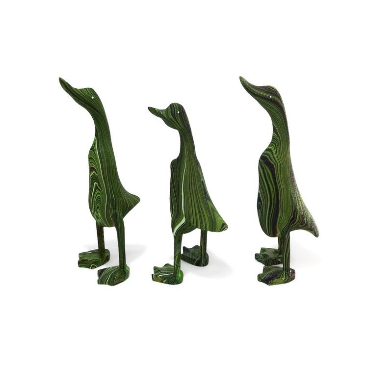 DUCK Dekorationsanka Grön