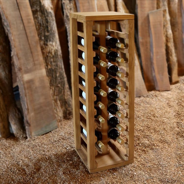 MAGNUS Rustikt Vinställ 20 Flaskor