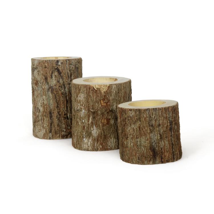 Ljushållare av trädgrenar
