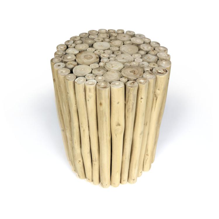 WOOD träpall med teakgrenar